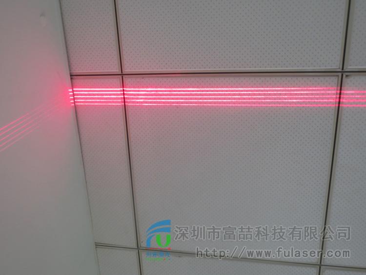 产品标题:fu-pxx-5 五条平行线激光器