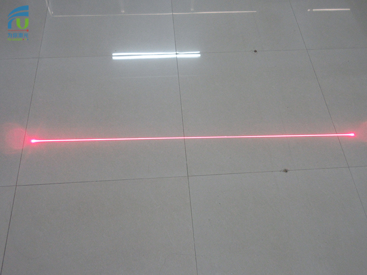 FU650AB100-GD1245 powell lens line laser 650nm <100mw 3-5VDC class 3B laser, line laser light, line laser projector,with adjustable focus