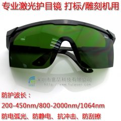 FU-ZYYJ03 Protective glasses for 1064nm laser marking machine, laser welding machine, laser cutting machine
