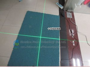 FU520C35-BD22 520nm 35mw high stability green cross laser, green crosshair laser with adjustable focus