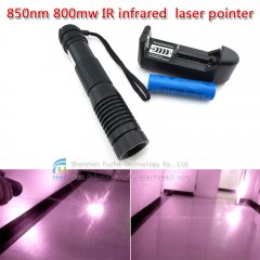 FU-JGSD850-800 850nm 800mw IR infrared laser pointer, IR pointer laser, point laser, ir pen, laser pen