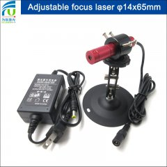 FU690ADX-GD1465 680-700nm 690nm 14x65mm adjustable red dot/spot/point laser diode module