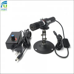 FU980AC1200-GD22 adjustable focus NIR cross hair laser module 970-990nm 980nm 1200mW infrared laser invisible